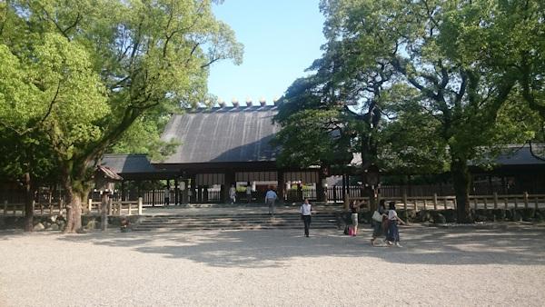 熱田神宮 祭殿