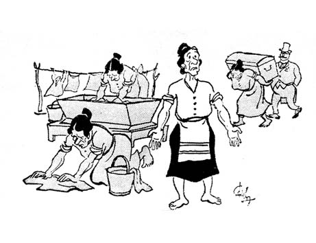 Η Ψωροκώσταινα από τον Φωκίωνα Δημητριάδη