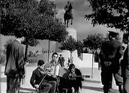 Οι τρεις μουσικοί στο πεδίο του Άρεως.