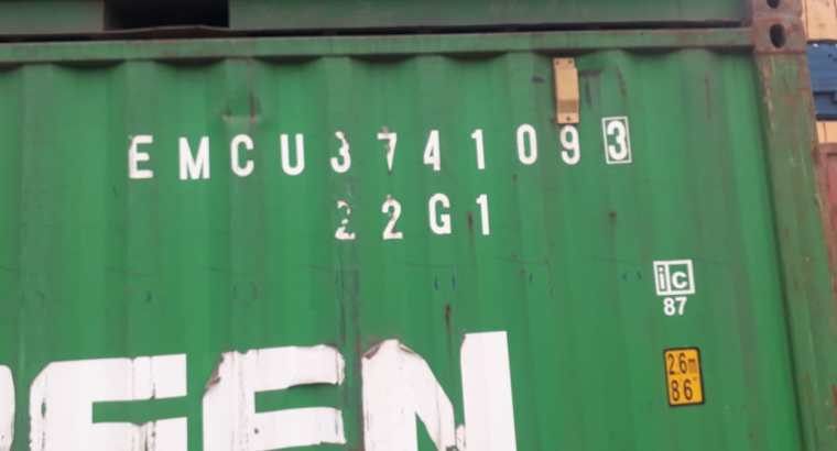 Used 20ft shipping container sale in Jeddah