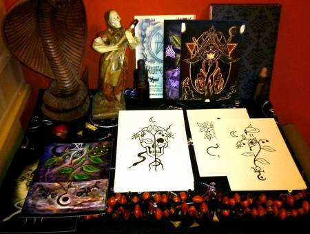 'Sigilla Magica Plantarum' card set, photo by Nagi Mahe Tuja
