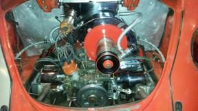 Drehgasgestänge für Weber Vergaser auf VW Typ1 verbaut auf meinem Typ1