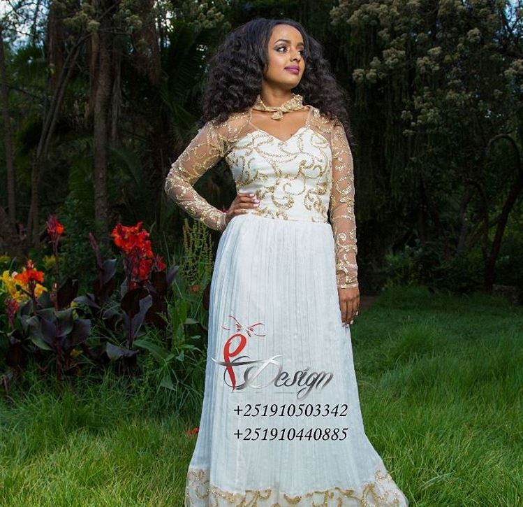 Fikir Design Ethiopian Cultural Dress