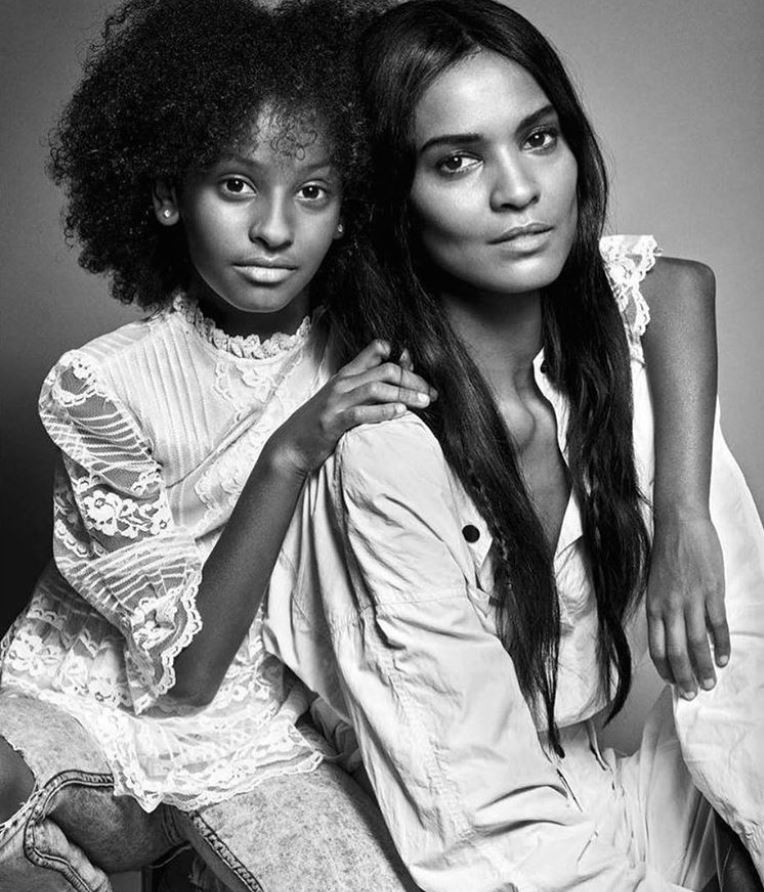 Liya Kebede marks Universal Children's Day with her 12-year-old daughter Raee.