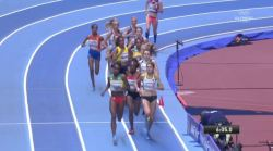 Genzebe Dibaba victorious in Birmingham, UK (video)