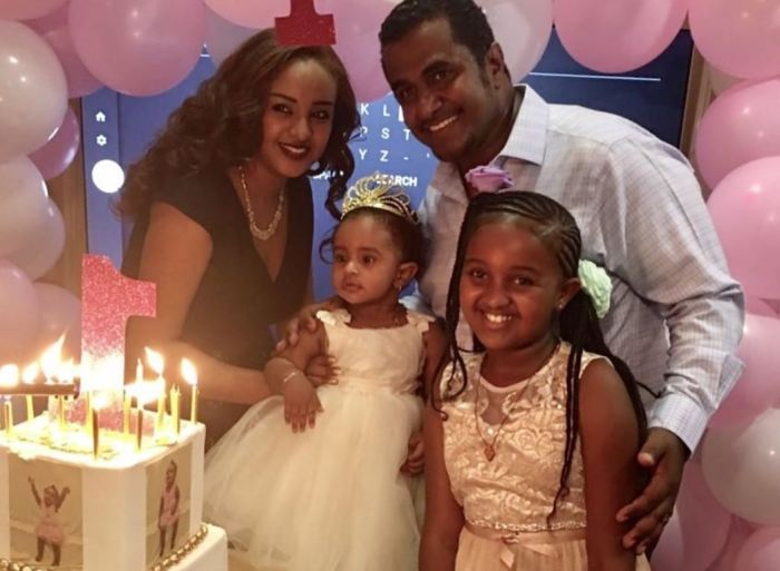 Happy birthday to Aziza Ahmed's little girl
