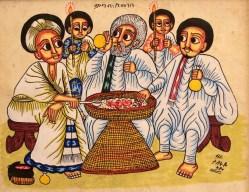 Ethiopian cultural dining