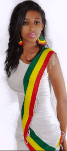 Beautiful Ethiopian cultural dress