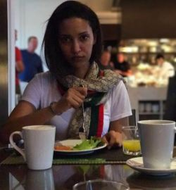 Sayat Demissie shares her breakfast moment with her social media followers