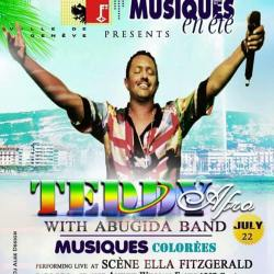 Teddy Afro coming to Geneva, July 22, 2015