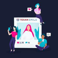 Texan Smile Dentist Sugar Land 77479 Social Media