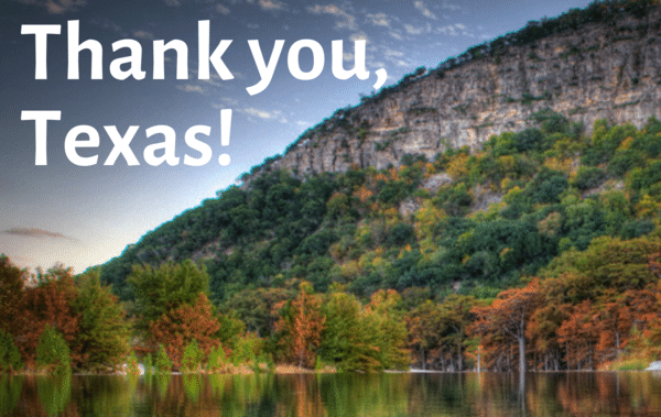 TEXAS STATE PARKS – PRESERVING THEM FOR THE FUTURE
