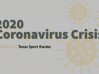 Coronavirus 2020 Update | Texas Sport Karate