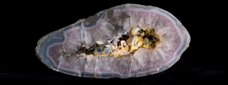 Geologically Significant: New Amethyst Agate Geode Find
