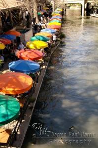 River Walk Umbrellas II
