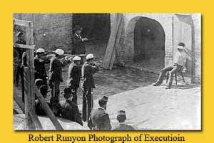 Robert Runyon Photograph of Execution