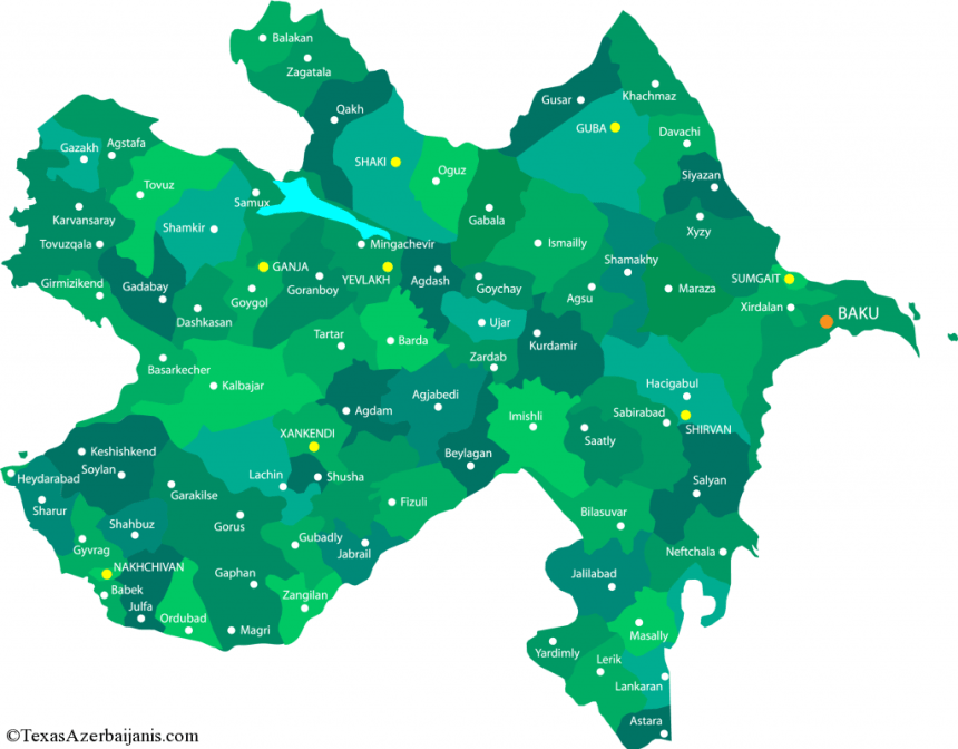 map-of-azerbaijan
