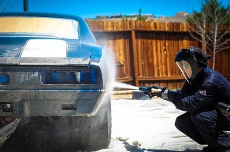 Dustless Blasting - Automotive