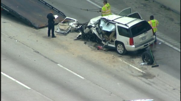 3 different drivers face charges after fatal North Freeway crash
