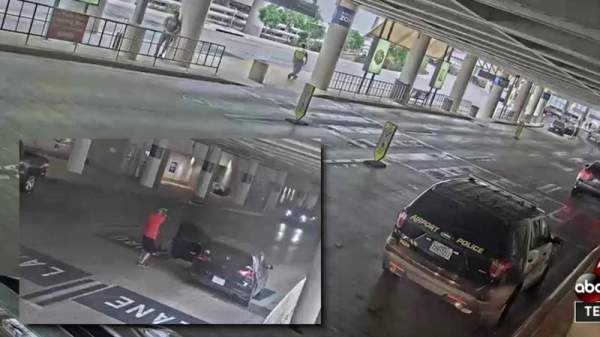 In April, the San Antonio Police Department Released a Security Video of a Fatal Shooting at San Antonio International Airport