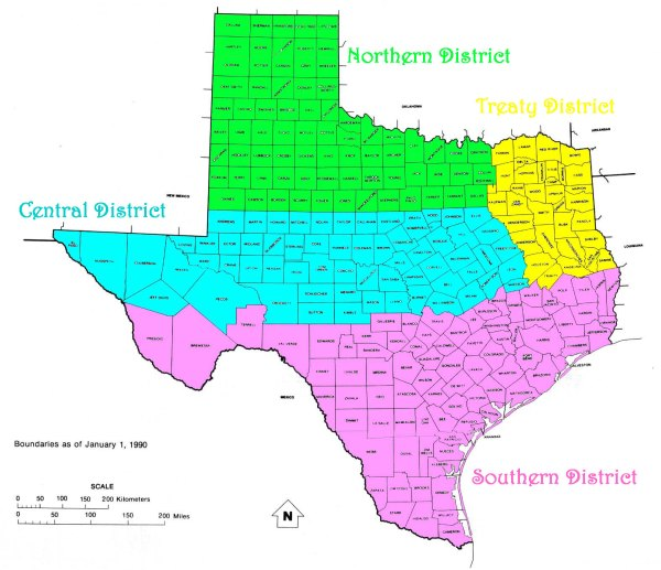 Texas Districts