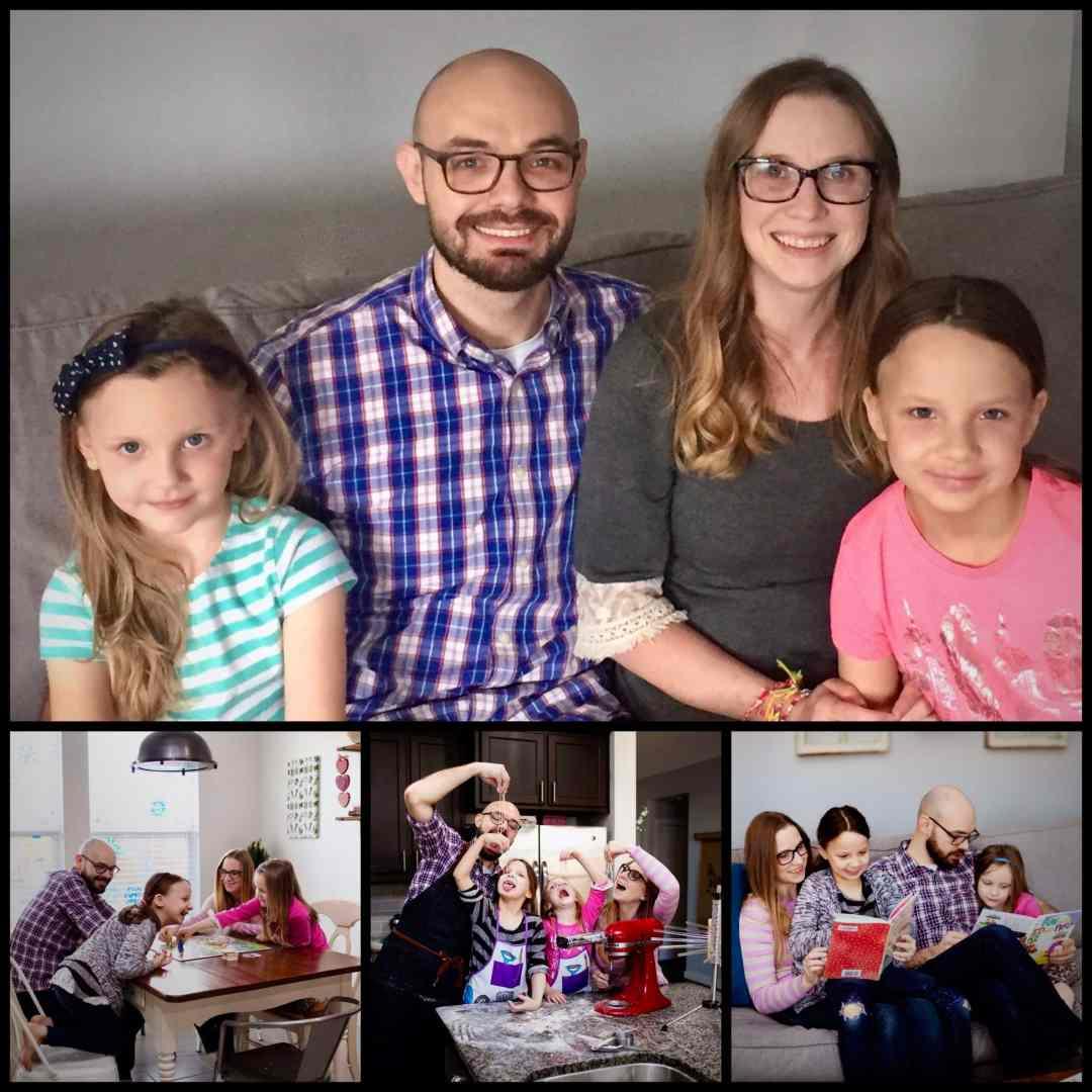Adoptive parents Robert and Kameilia