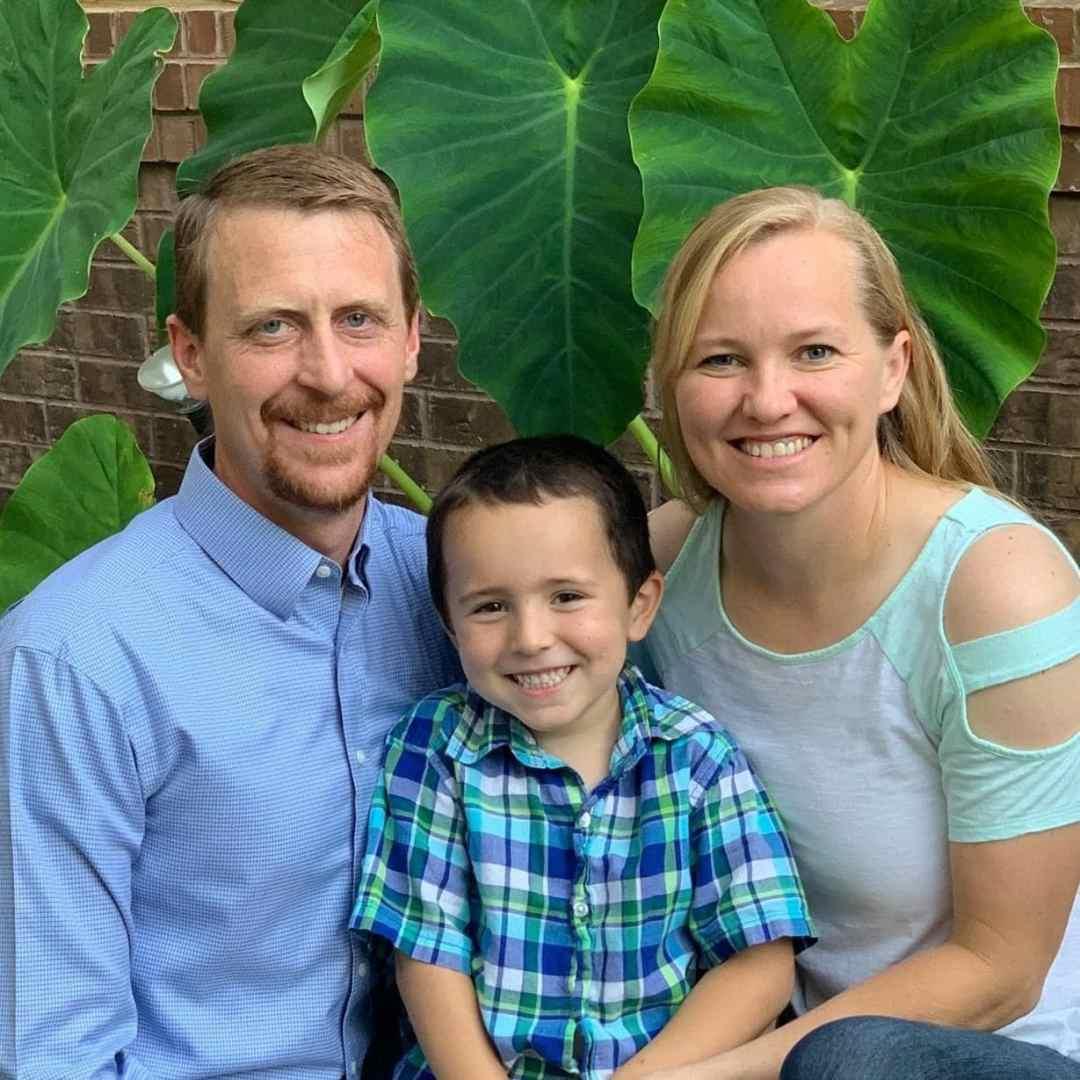 Adoptive parents Zach and Carmen