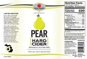Pear Cider Can Release! @ Texas Corners Brewing Company | Kalamazoo | Michigan | United States