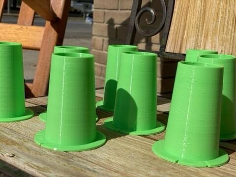 3D printed cones