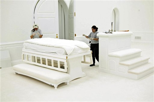 Bed found in the Temple