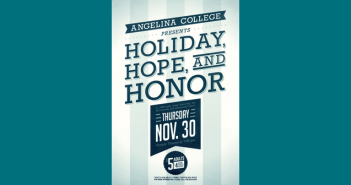 """Angelina College Presents """"Holiday, Hope and Honor"""""""