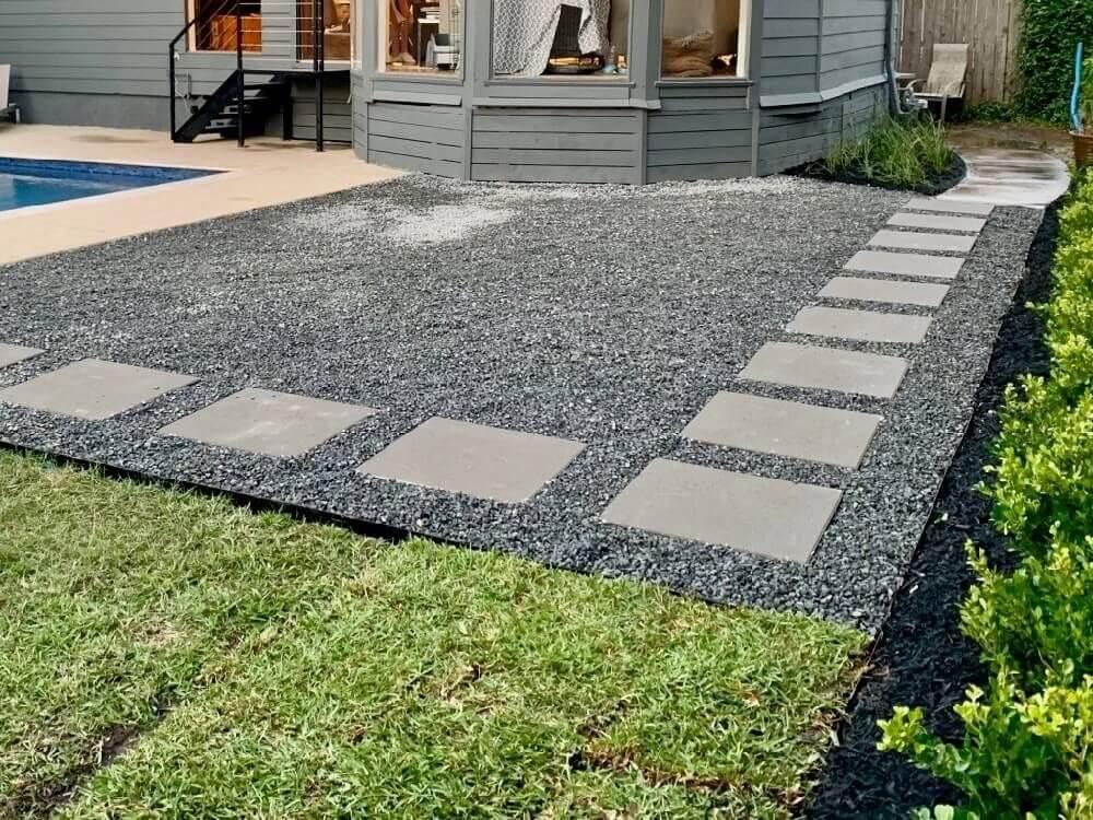 concrete pavers pewter gray 24x24 price piece