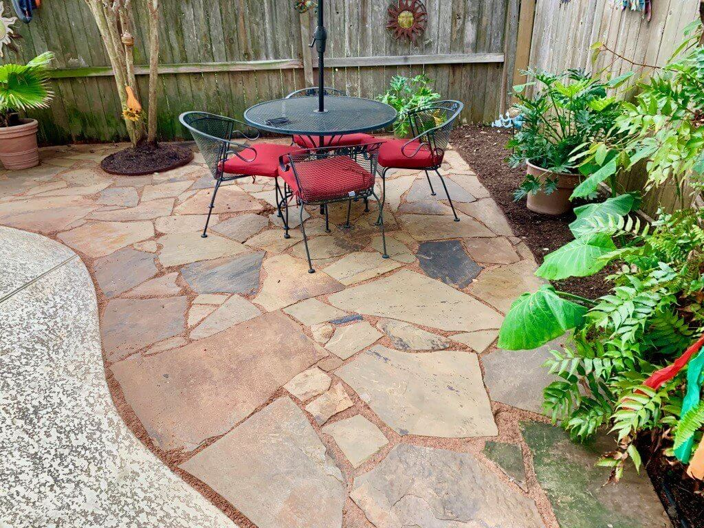 flagstone pavers brown ok 1 5 2 price pallet