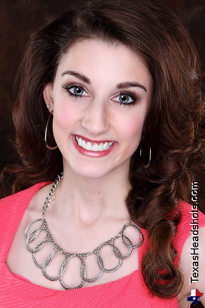 Dallas Fort Worth Pageant Headshot Miss Denton County