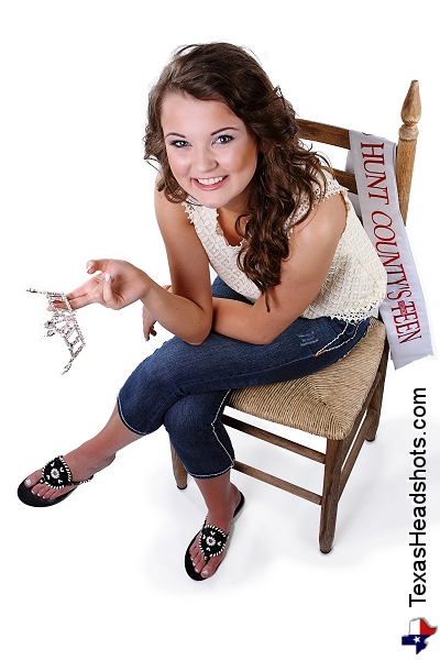 Dallas Fort Worth Pageant Photography - Miss Hunt County Teen