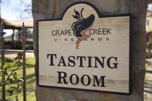 Grape Creek Vineyards and Winery in Fredericksburg TX
