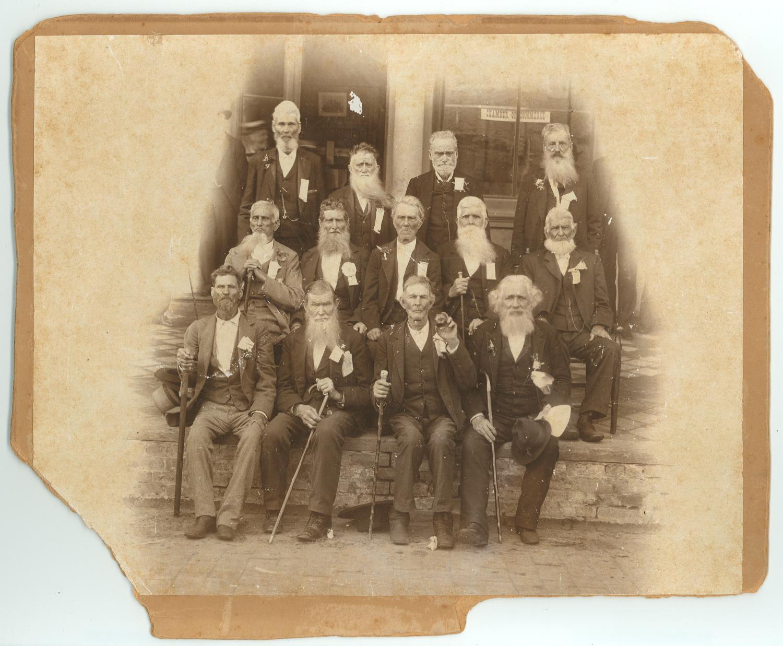 Photo Of Survivors Of Battle Of San Jacinto The Portal