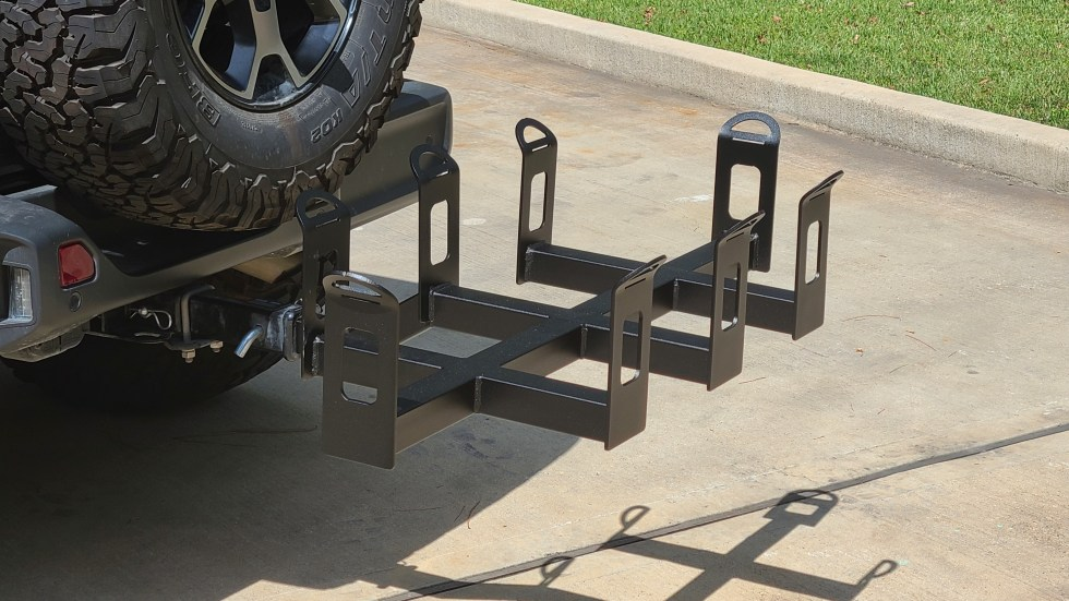 Hitch Mount Cargo Carrier 2