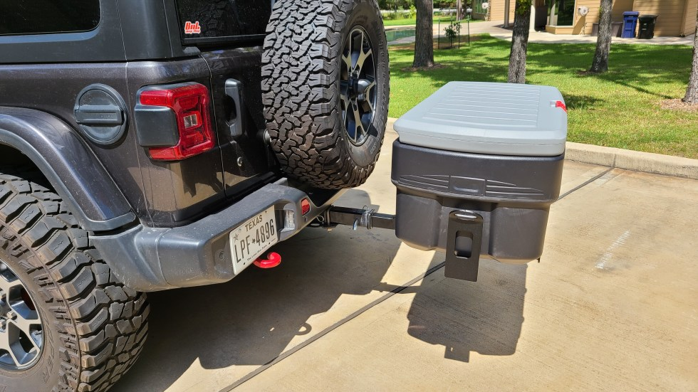 Hitch Mount Cargo Carrier 3