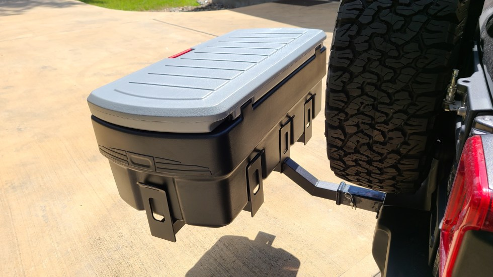 Hitch Mount Cargo Carrier 5