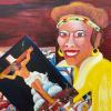Ruth Mae McCrane self portrait