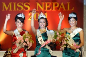 Miss Nepal 2011 Winners