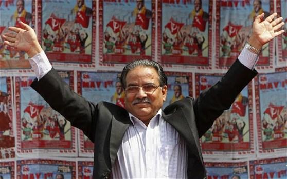 Unified Communist Party of Nepal Chairman Pushpa Kamal Dahal Photo: PRAKASH MATHEMA/AFP/Getty Images