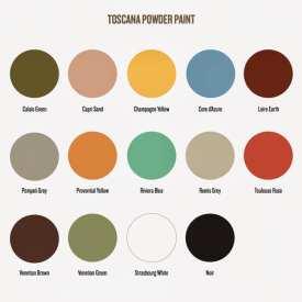 Amy Howard Toscana Milk Paint colors