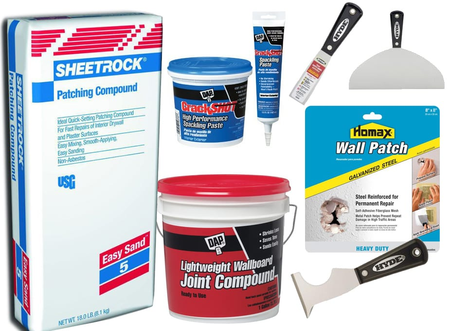 Wall patching Supplies
