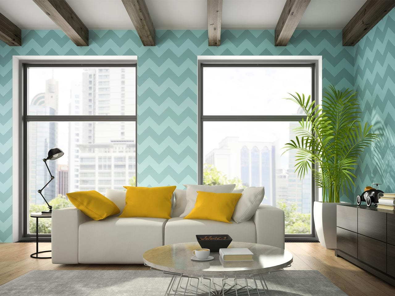 Dramatic Wall Paper - Wall Coverings - Helm Paint & Decorating