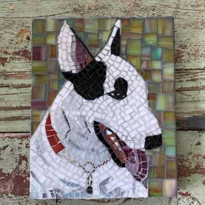 DeniseMosaics-Pet Portraits Dog Display Gallery 12