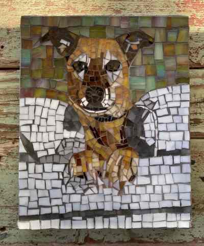 DeniseMosaics-Pet Portraits Dog Display Gallery 17