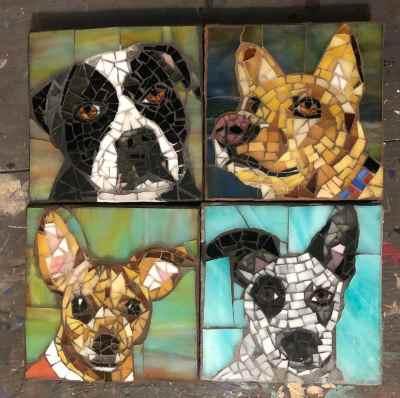 DeniseMosaics-Pet Portraits Dog Display Gallery 18