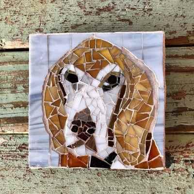 DeniseMosaics-Pet Portraits Dog Display Gallery 3